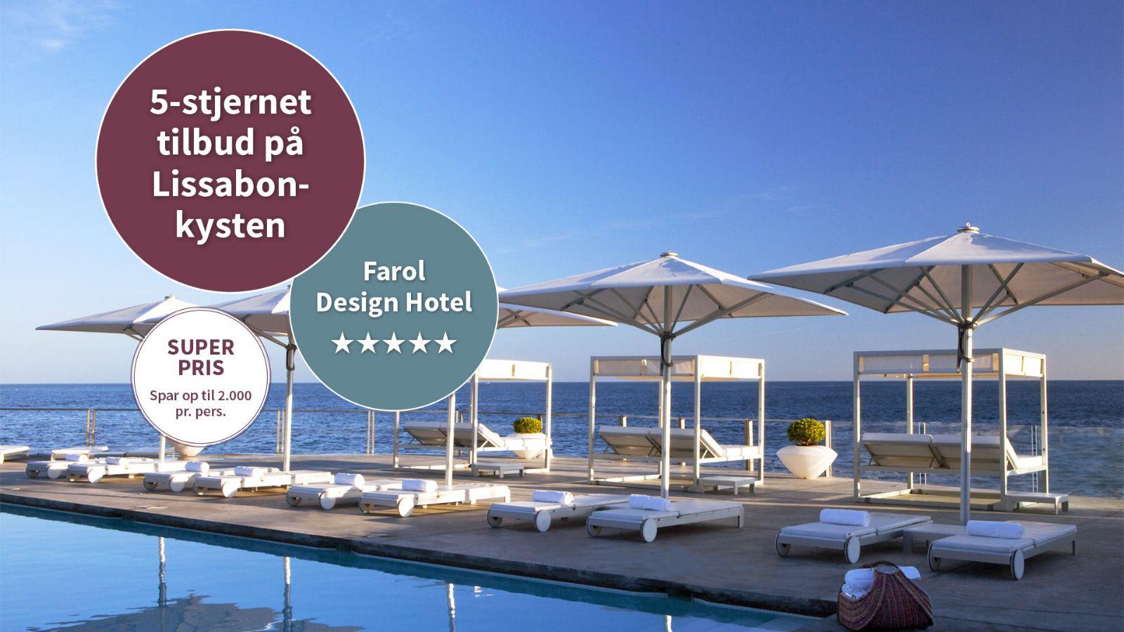 Tilbud p farol design hotel ved lissabonkysten for Design hotel umbrien