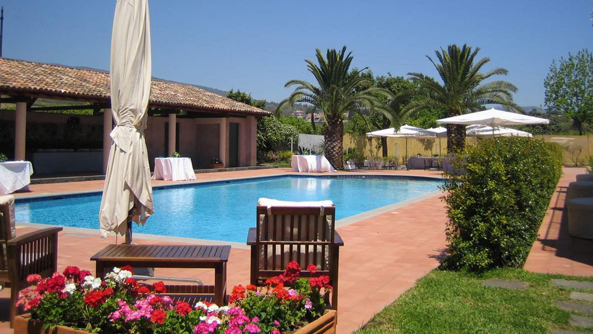 Etna hotel på Sicilien