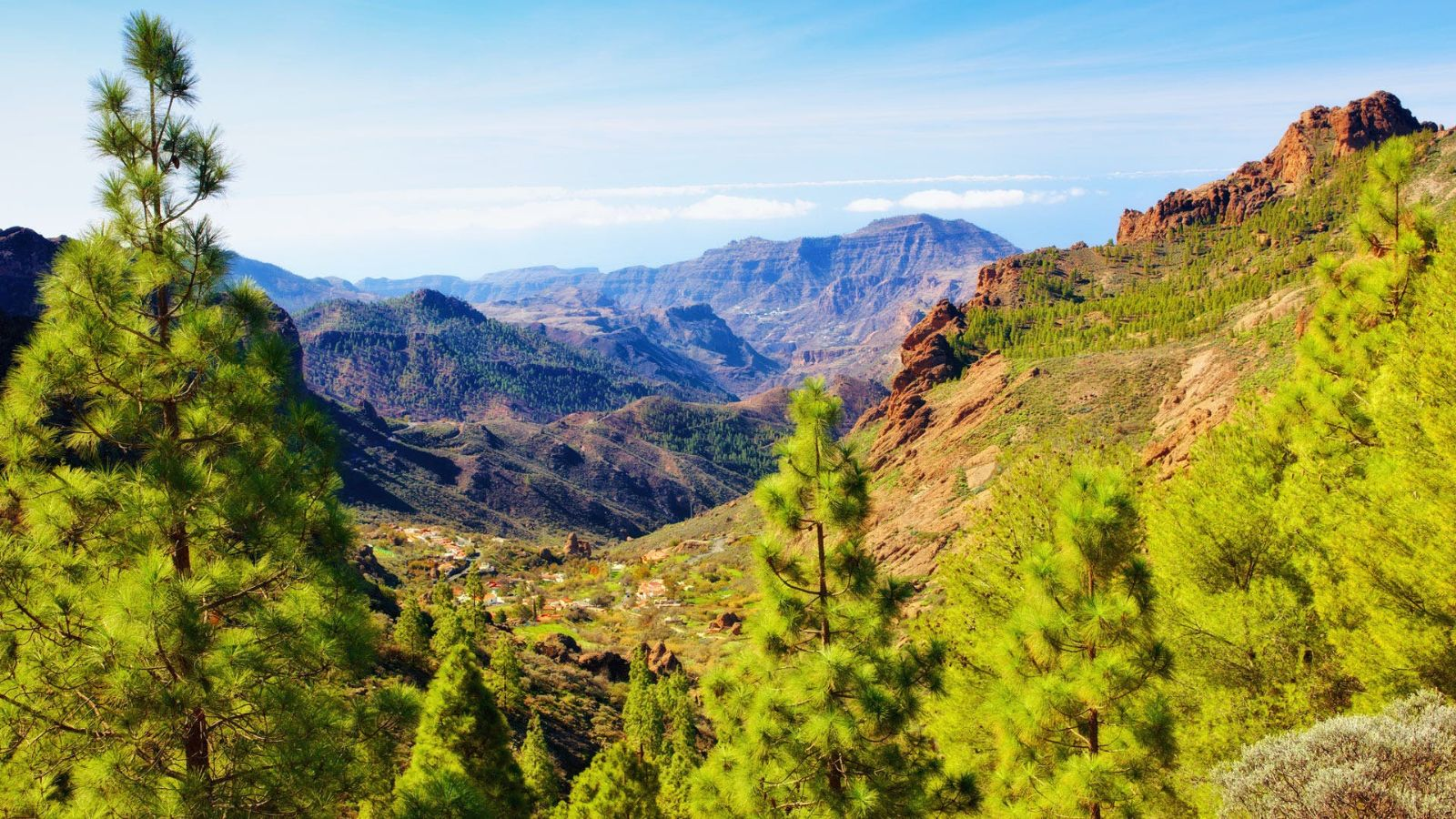 Bjerge på Gran Canaria
