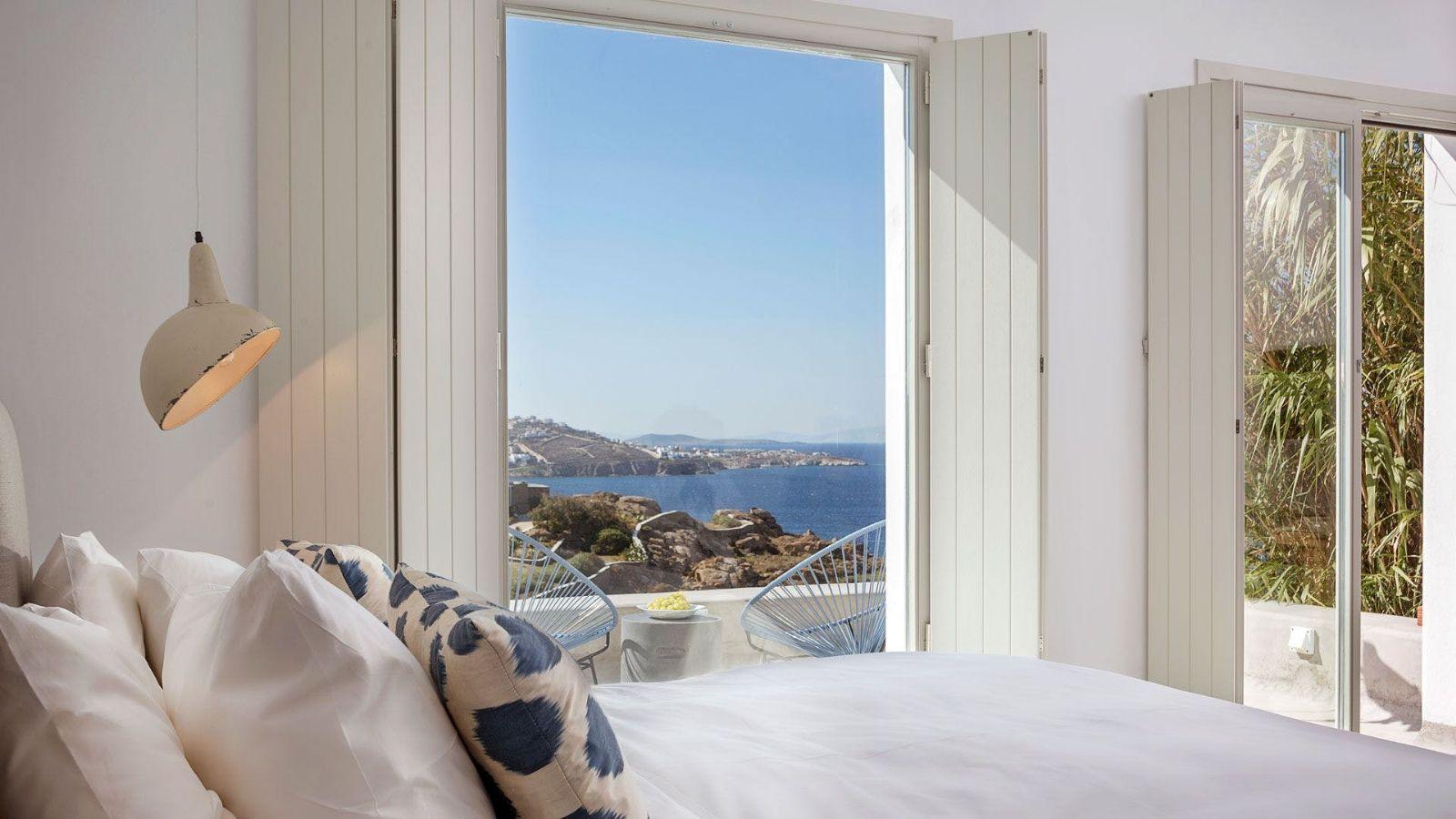 Hotel med havudsigt i Grækenland
